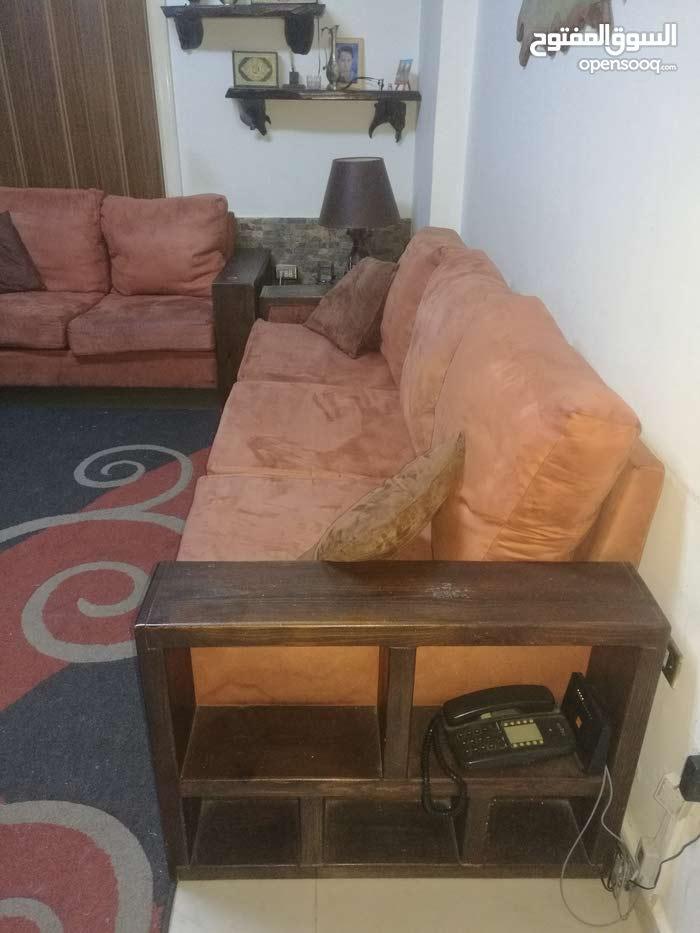 غرفة جلوس خشب انتيك ثقيل