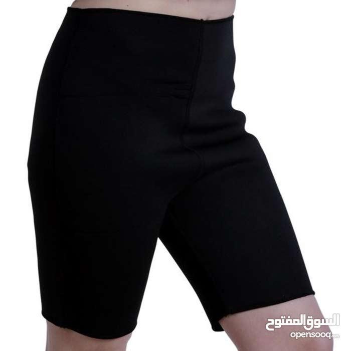 شورت حراري للتنحيف و ممارسة تمارين رياضية لتخفيف الوزن و اجهزة متعددة من بركة للرياصة