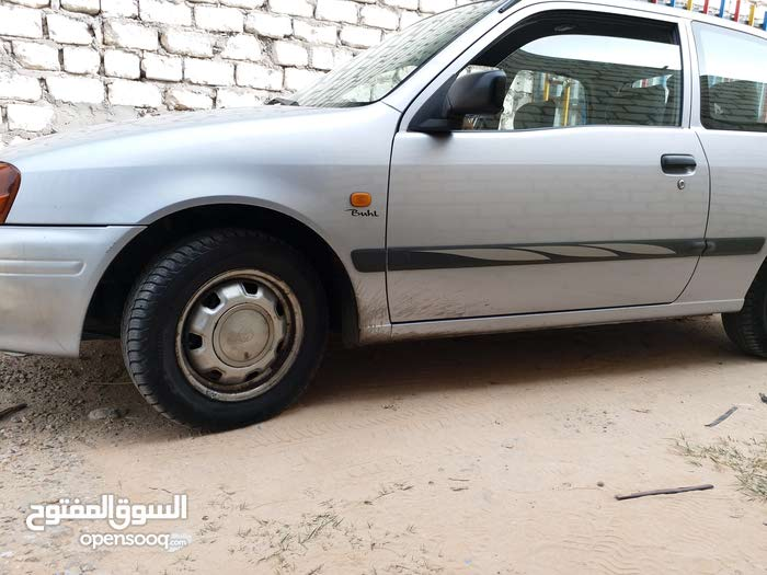 For sale 1997 Silver Starlet