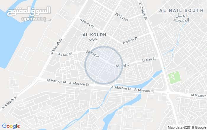ملحق للايجار ف منطقه الخوض التجاريه مقابل مركز رعايه الطفوله