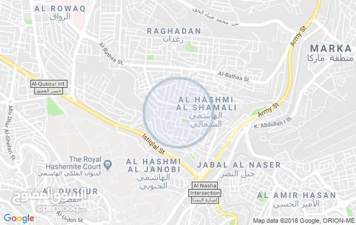 Ground Floor  apartment for rent with 2 rooms - Amman city Al Hashmi Al Shamali