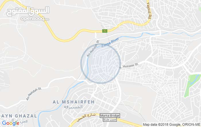 شقة للايجار في الرصيفة جبل الامير فيصل