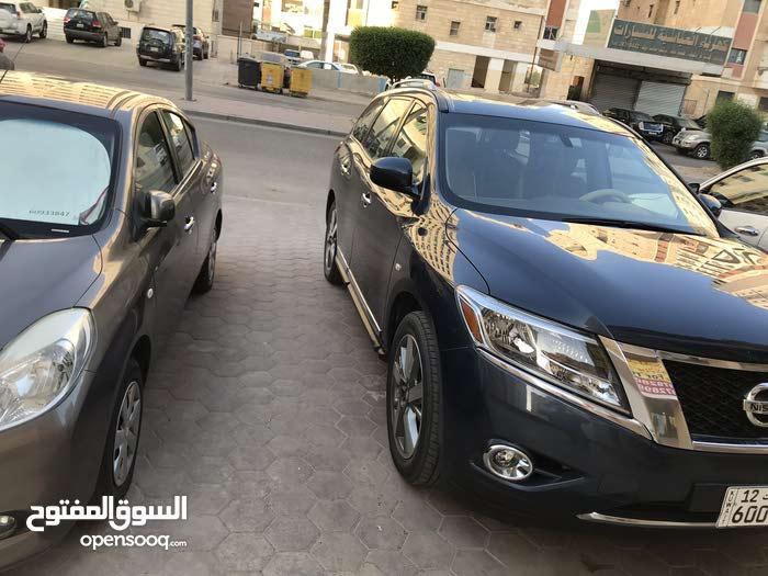 Automatic Blue Nissan 2014 for sale