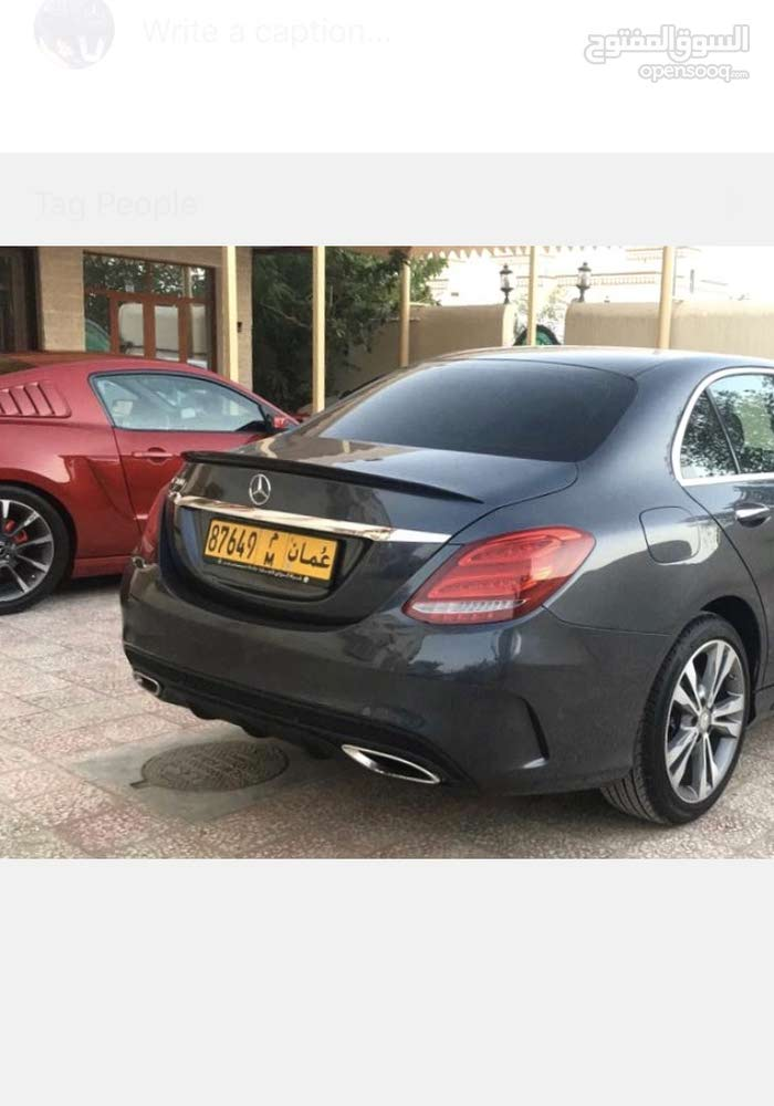Mercedes Benz C 300 car for sale 2015 in Muscat city