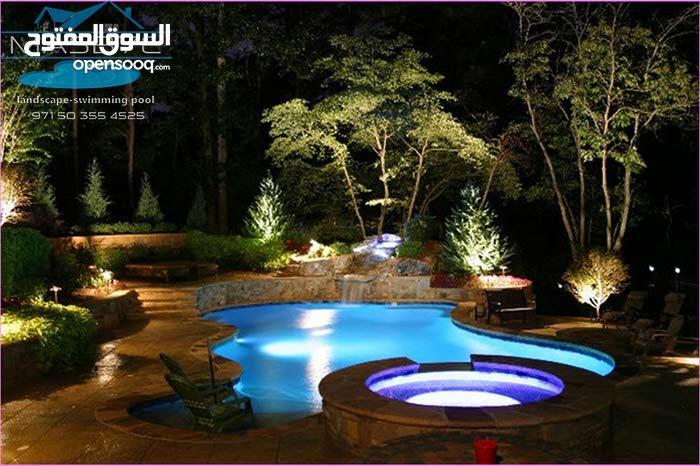 بناء المسابح تصاميم احواض السباحة