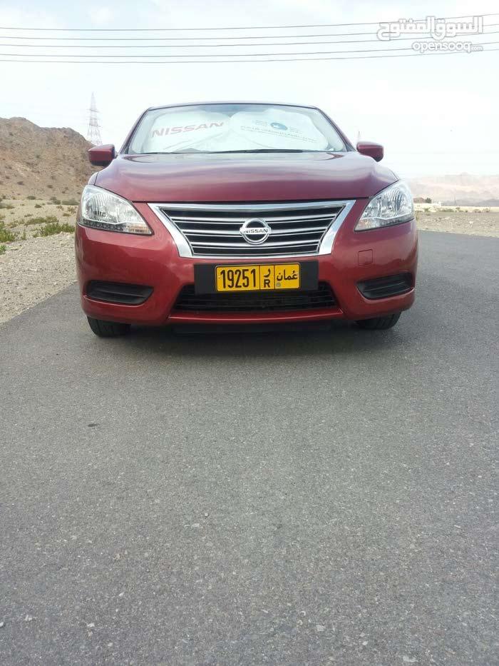نيسان سنترا للبيع موديل 2014خليجي وكاله عمان91889184