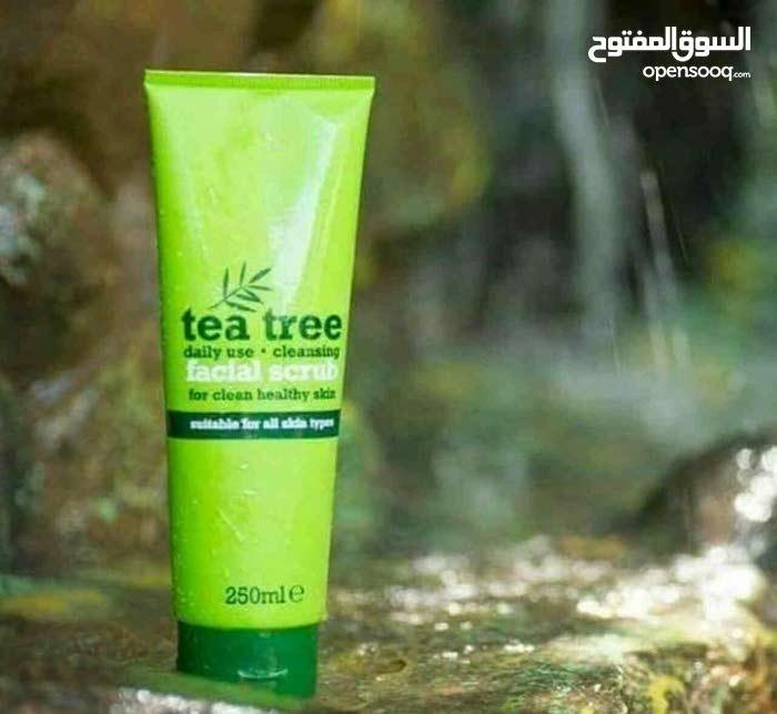 مقشر الوجه من شجرة الشاي