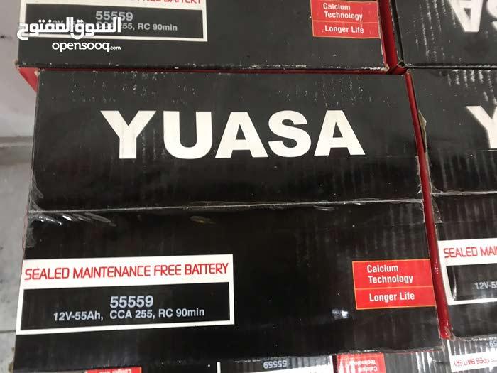بطاريات من شركة YUASA اليابانية تصنيع اندونيسيا