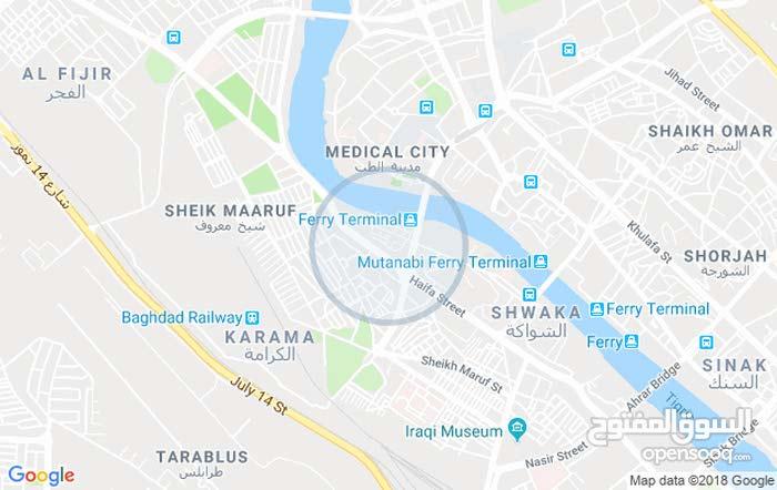 للبيع محل في شارع حيفا