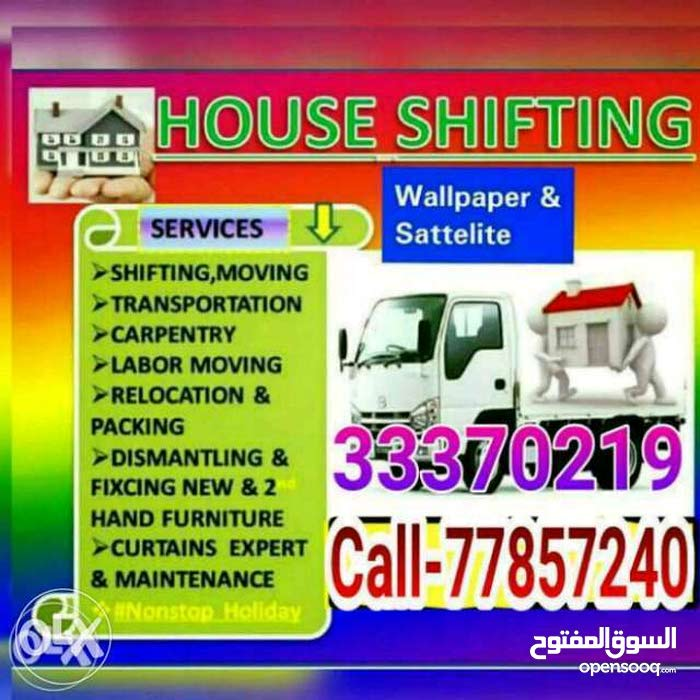 Home, villa, office Furniture Moving Fixing, Carpenter, Transport.