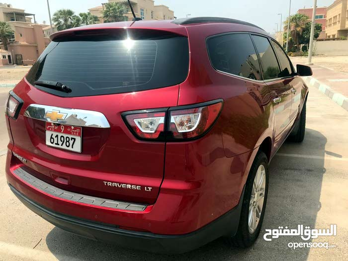 2013 Chevrolet Traverse for sale in Abu Dhabi