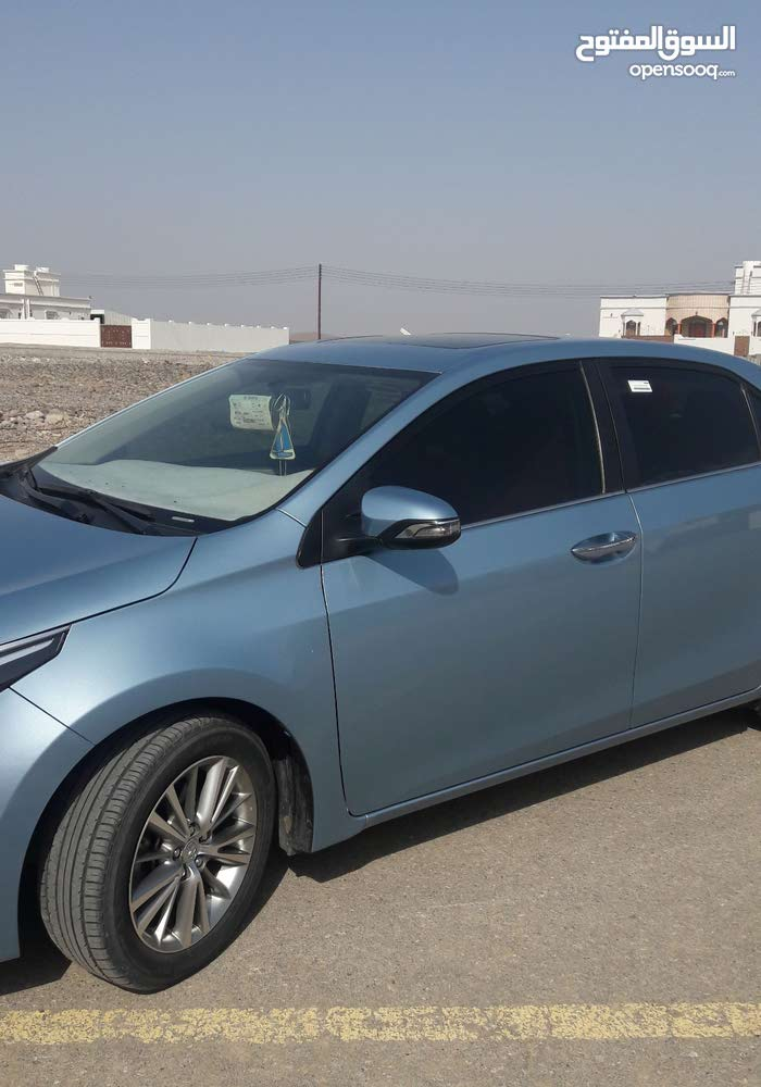 Blue Toyota Corolla 2016 For
