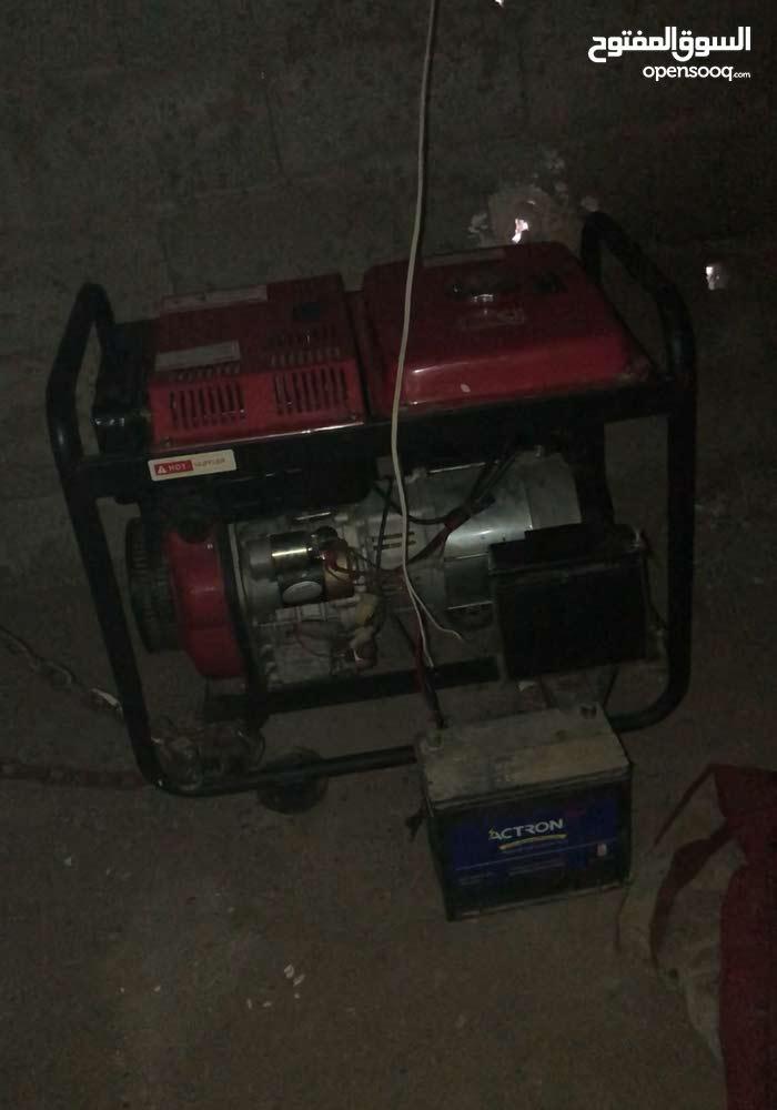 ماطور كهرباء ديزل شبه جديد استخدم 5مرات