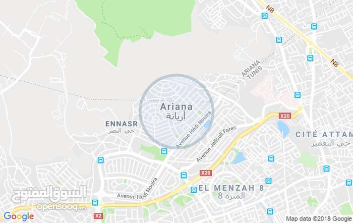 ارض في حدايق المنزه بجانب مصحة الاطفال بتونس