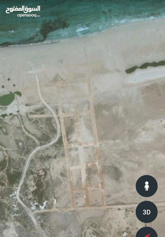 قطعة أرض مساحة 200 في سيدي خليفة خلف مطعم بالة