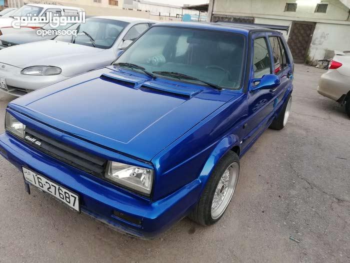 Manual Blue Volkswagen 1988 for sale