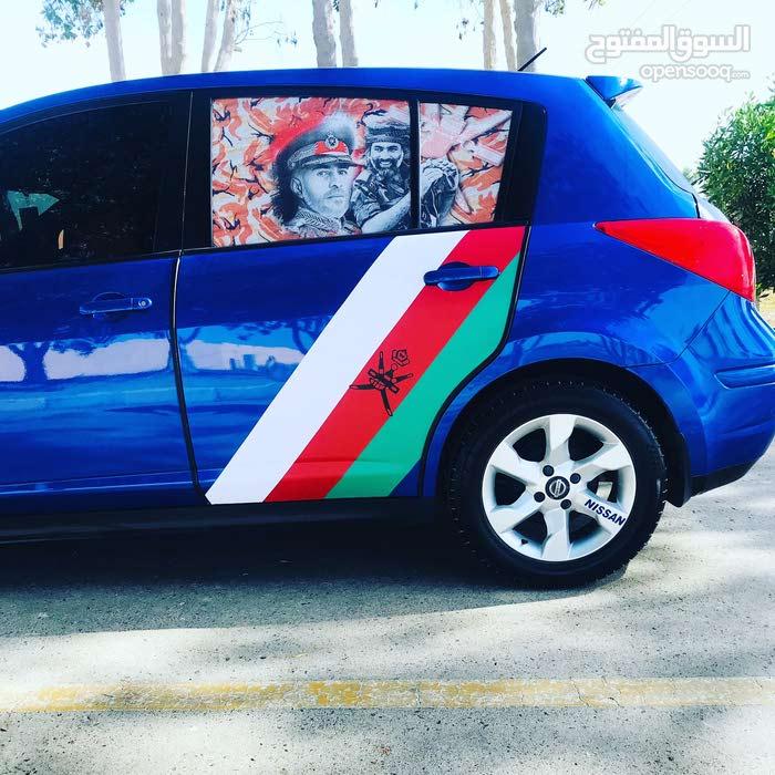 Nissan Tiida 2010 For sale - Blue color