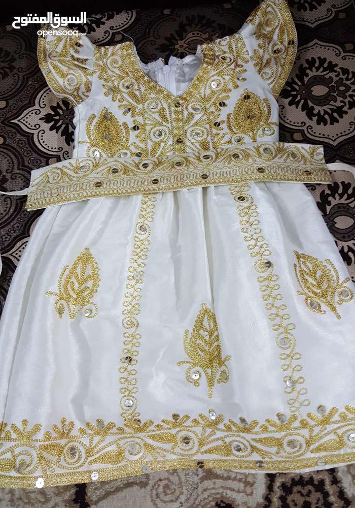 ثوب بحريني ملبوس مرة وحدة