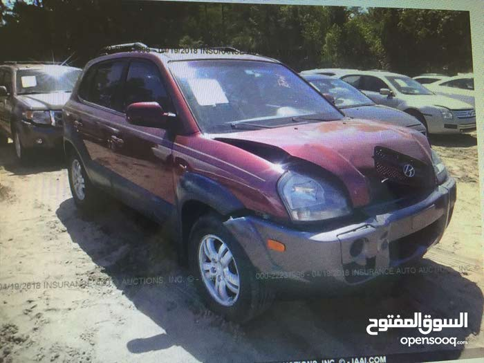 Maroon Hyundai Tucson 2008 for sale