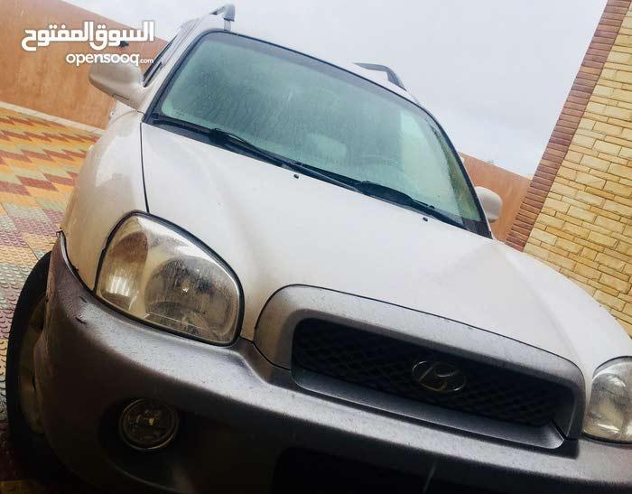 Hyundai Santa Fe 2002 For sale - White color