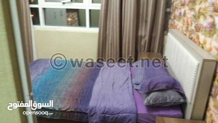 غرف للايجار بالتعاون قريب من دبي شامل كهرباء ونت وجيم
