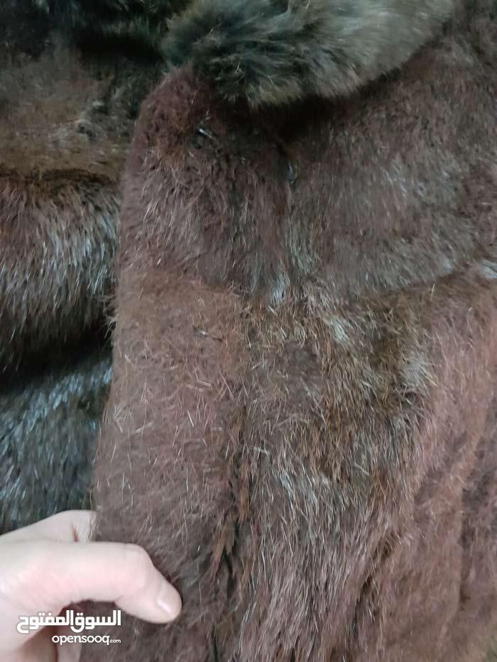 جاكيتات فرو اصلي لون بني  Original Brown Fur Jackets
