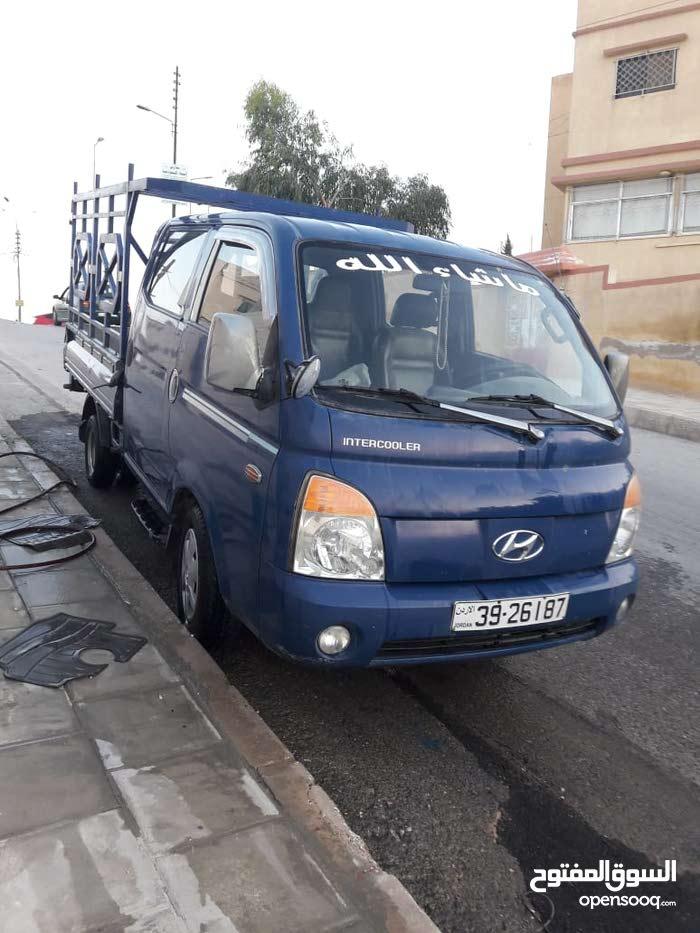 Used condition Hyundai Porter 2007 with +200,000 km mileage