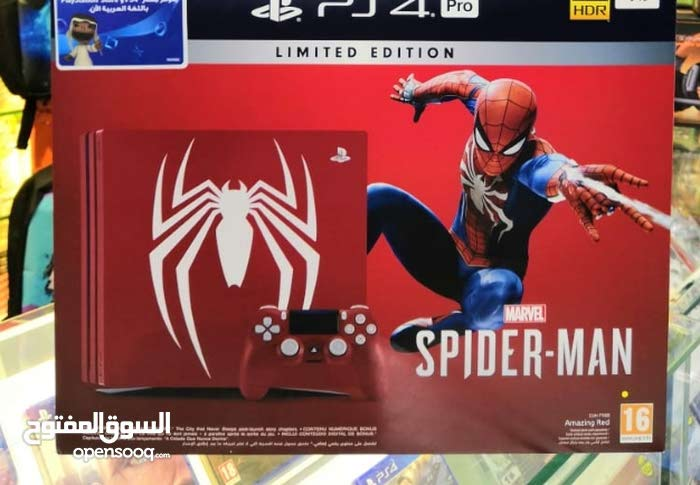 New Bundle offer PS4 1TB Pro 4K and HDR Spiderman