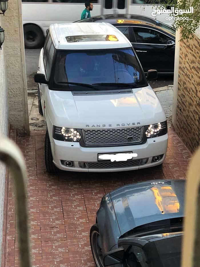 For rent 2012 White Range Rover