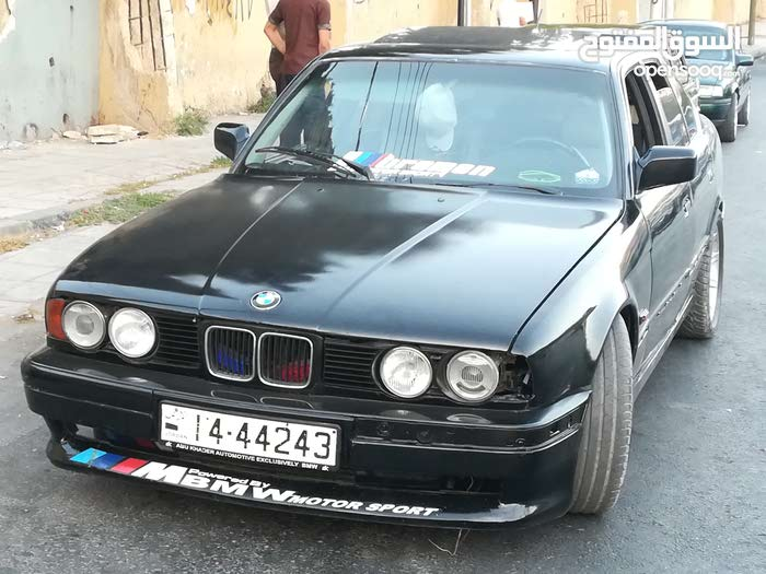 Used condition BMW 520 1991 with 0 km mileage