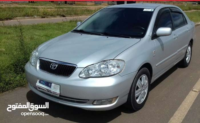Toyota Corolla car for rent