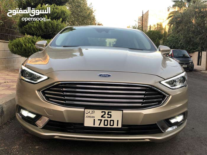 Gold Ford Fusion 2017 for sale