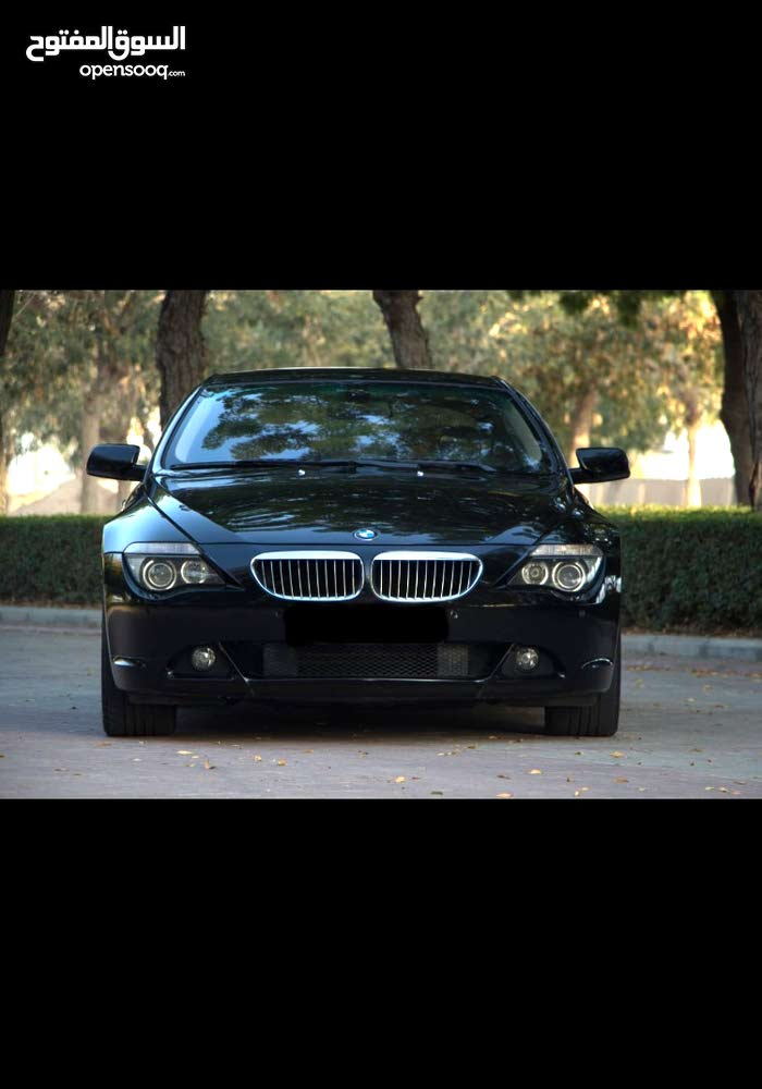 Gasoline Fuel/Power   BMW 650 2007