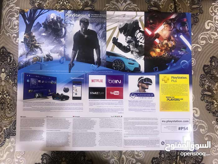 New Playstation 4 for sale with high specs and add ons