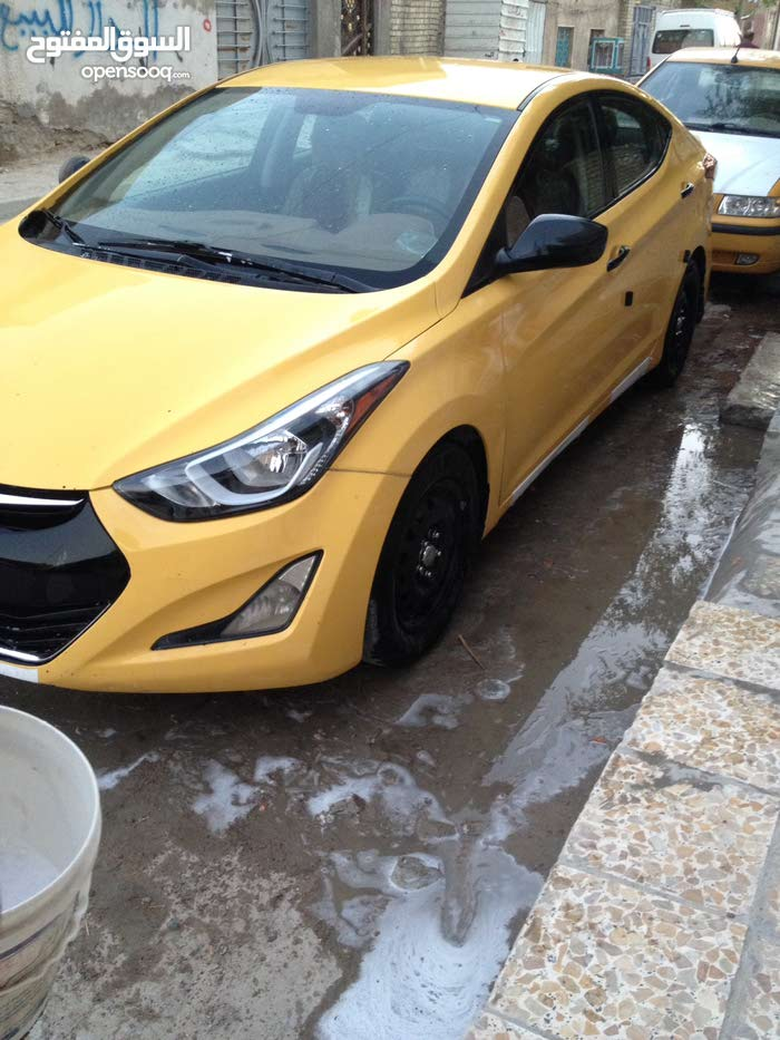 Hyundai Elantra made in 2014 for sale