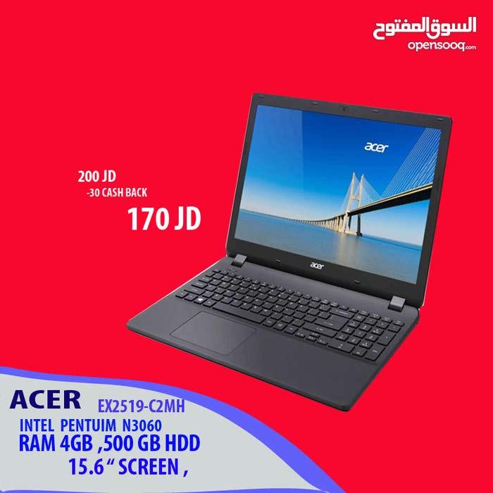 لابتوب ايسر سيليرون 4 جيجا رام . LAPTOP ACER  CELERON -4GB RAM