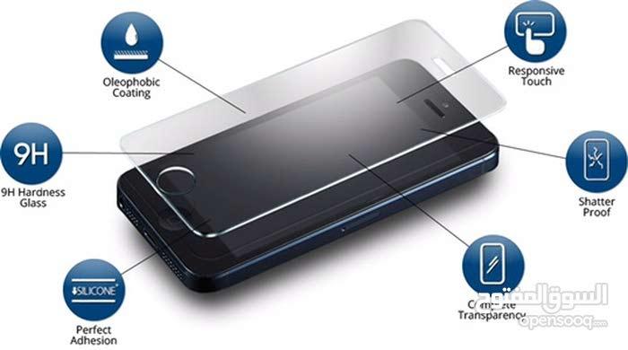 كفرات شفافة و لزقة حماية للشاشة