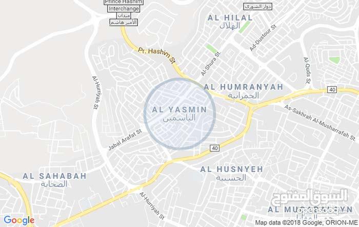شقة طابق ثالث مساحة 150م مميزة جدا للبيع/ضاحية الياسمين 41