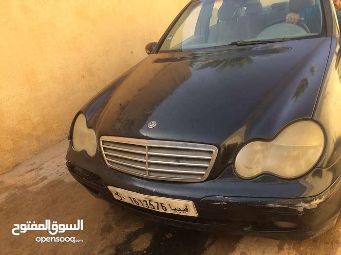 Automatic Black Mercedes Benz 2000 for sale