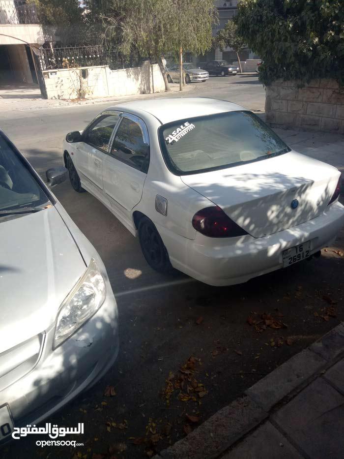 White Kia Spectra 2001 for sale