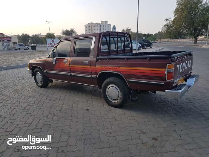 Manual Toyota 1986 for sale - Used - Al Masn'a city