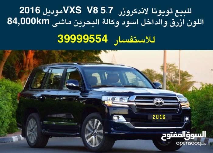 للبيع تويوتا لاندكروزر  VXS  V8 5.7 موديل 2016