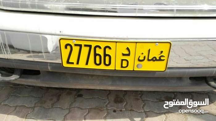 رقم سيارة مميز 27766 / د