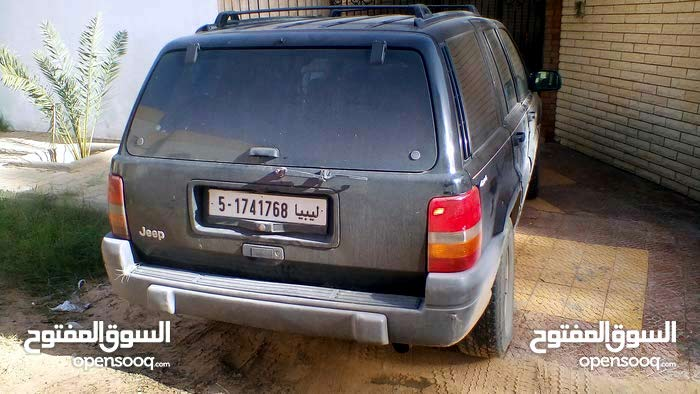 Automatic Black Jeep 2000 for sale