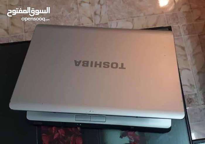 لابتوب توشيبا L300 بحالة جيدة للبيع في دمشق