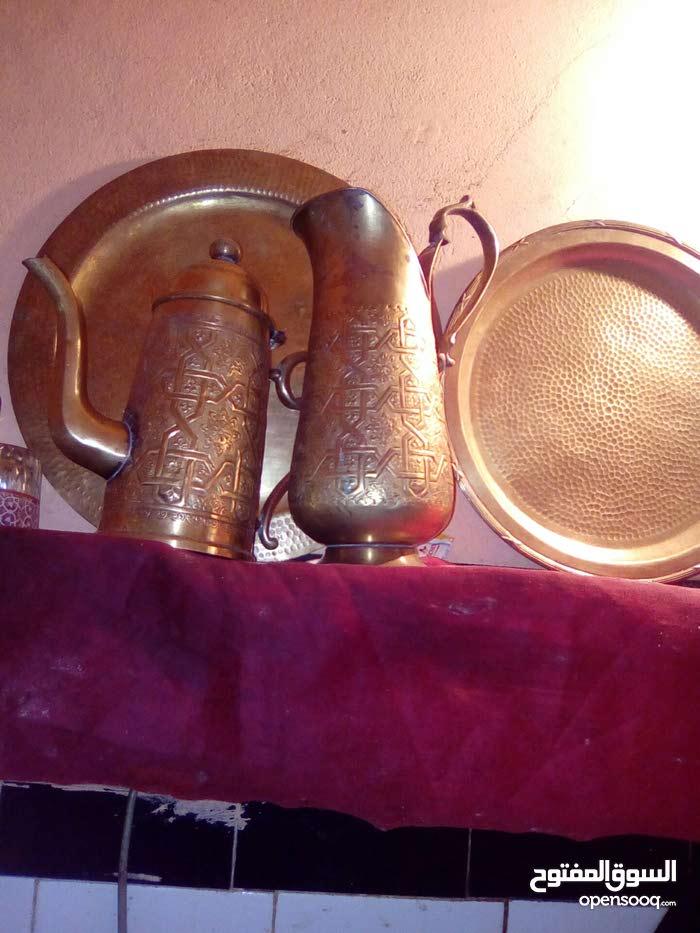 اثاث من النحاس المطبوع الاصلي
