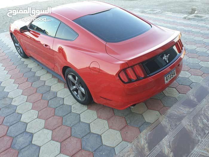 للبيع موستانج 2016 V6 احمر