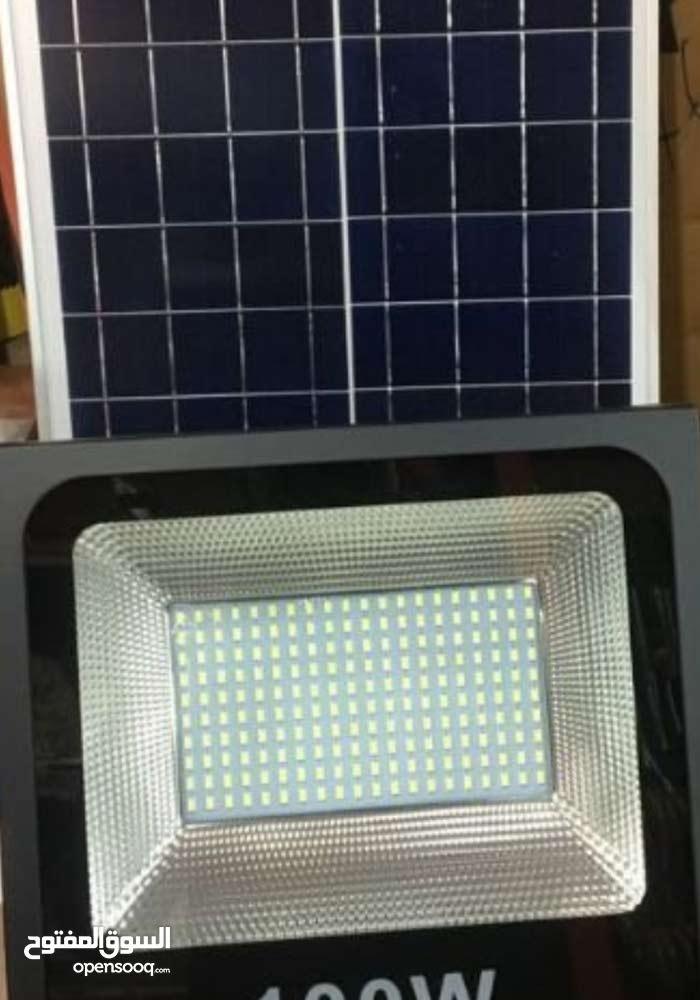 كشافات طاقة شمسية