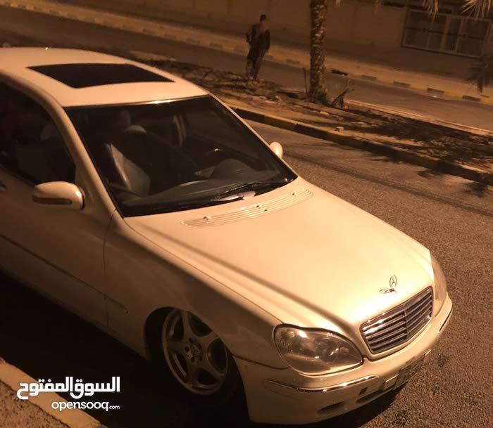 White Mercedes Benz SLK 320 2000 for sale