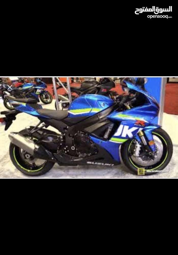 Suzuki motorbike made in 2017 for sale